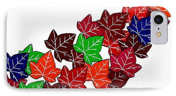 Leaves Phone Case by Oliver Johnston