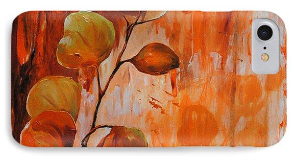 Leaves1 Phone Case by Chris Steinken