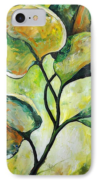Leaves2 Phone Case by Chris Steinken