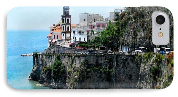 Leaving Atrani  Italy IPhone Case