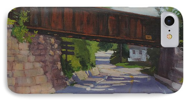 Leaving Hallowell IPhone Case by Bill Tomsa