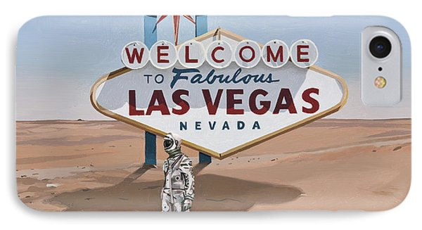 Leaving Las Vegas IPhone Case by Scott Listfield