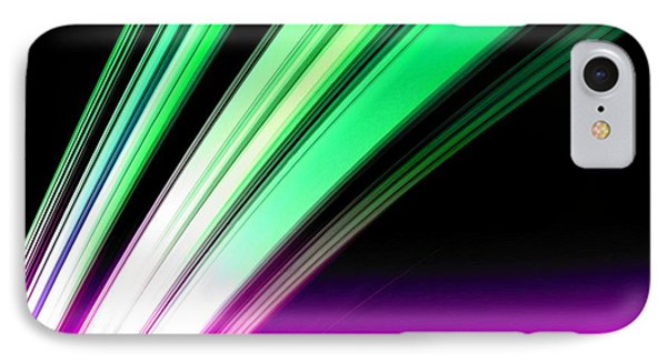 Leaving Saturn In Pink And Mint Phone Case by Pet Serrano