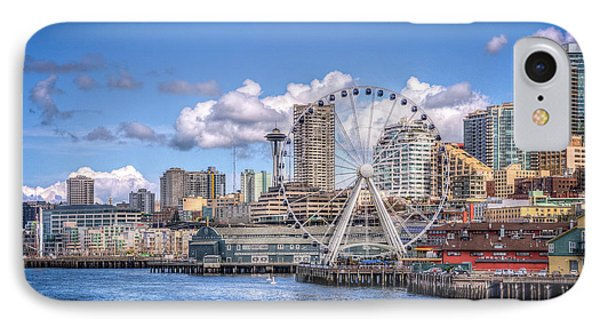 Leaving Seattle IPhone Case by Spencer McDonald