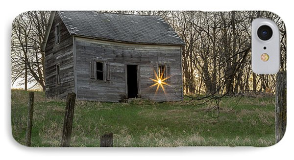 Leaving The Light On IPhone Case by Penny Meyers