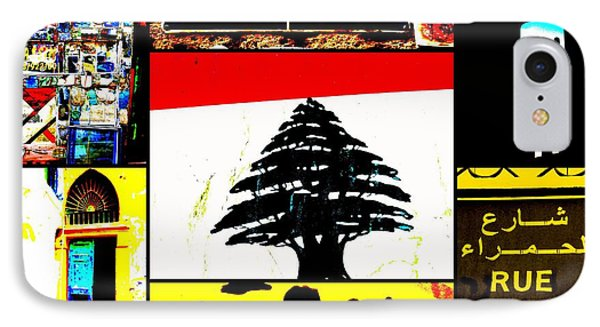 Lebanon Famous Icons Phone Case by Funkpix Photo Hunter