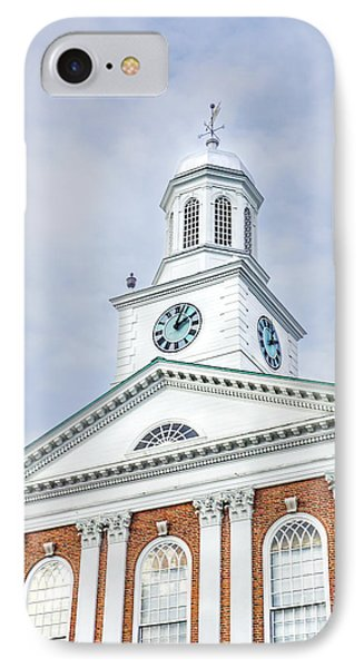 Lebanon, New Hampshire IPhone Case by Liesl Marelli