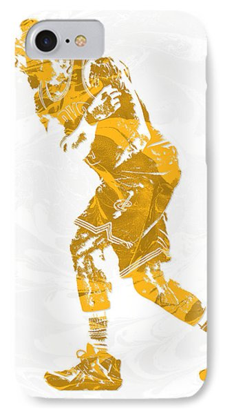 Lebron James Cleveland Cavaliers Pixel Art 13 IPhone Case