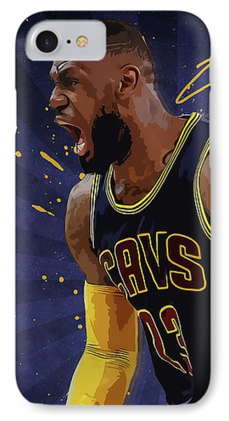 Lebron James Nba IPhone Case
