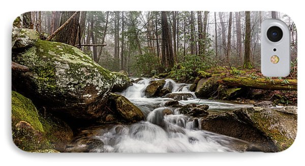 Leconte Creek IPhone Case by Everet Regal
