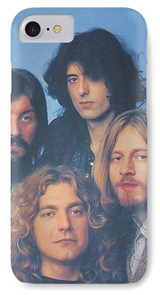 Led Zeppelin Phone Case by Donna Wilson