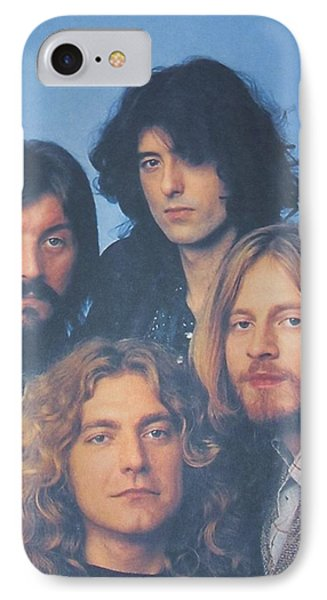 Led Zeppelin IPhone Case by Donna Wilson