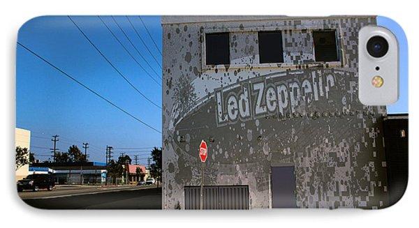 Led Zeppelin I Phone Case by RJ Aguilar