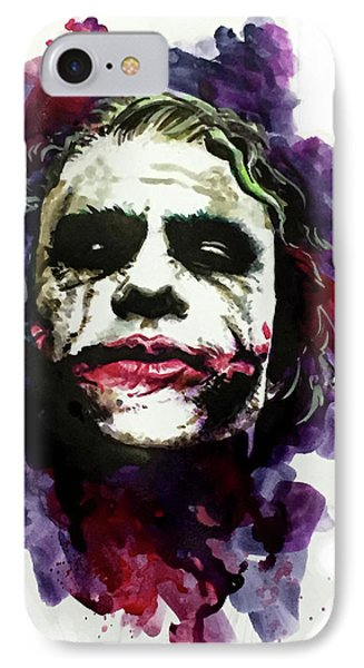 Ledgerjoker IPhone Case by Ken Meyer jr