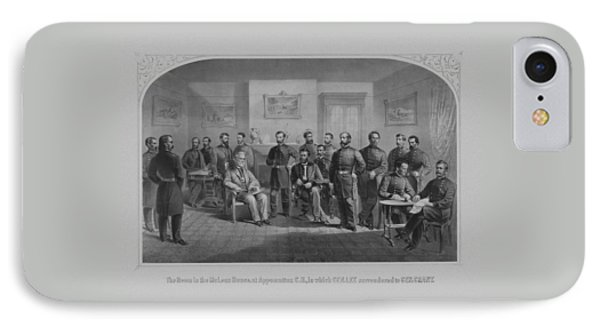 Lee Surrendering To Grant At Appomattox IPhone Case
