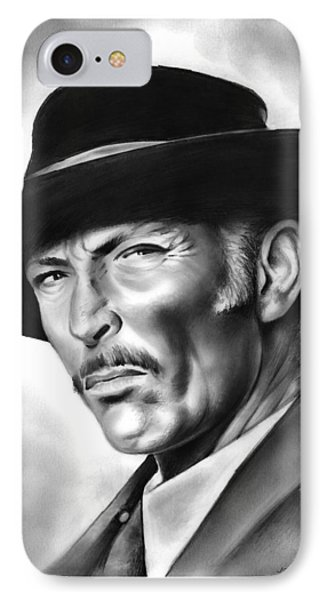 Lee Van Cleef IPhone Case by Greg Joens