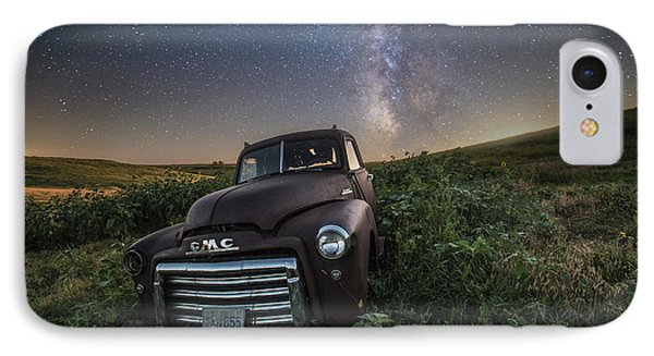 IPhone Case featuring the photograph Left To Rust by Aaron J Groen