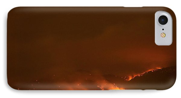 Lefthand Canyon Wildfire Boulder Colorado IPhone Case by James BO  Insogna