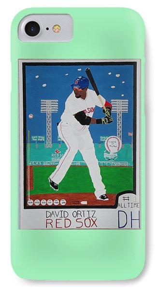 Legend Of Big Papi IPhone Case by Dennis ONeil
