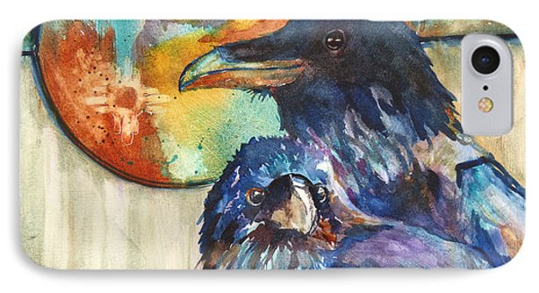 Legend Of The Raven IPhone Case by P Maure Bausch