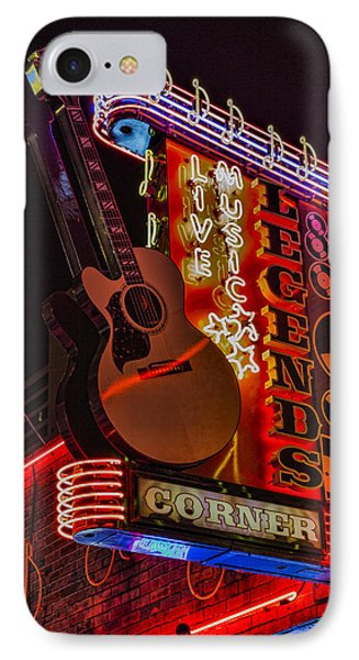 Legends Corner Nashville IPhone Case by Stephen Stookey