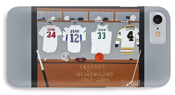 Legends Of New England IPhone Case