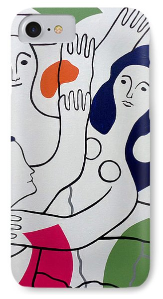 Leger Light And Loose IPhone Case by Tara Hutton