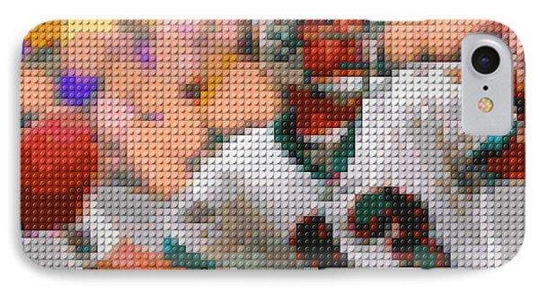 Lego Dan Marino IPhone Case by Paul Van Scott