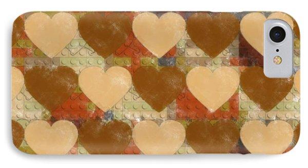 Legolike Hearts IPhone Case