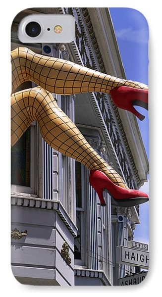 Legs Haight Ashbury IPhone Case by Garry Gay