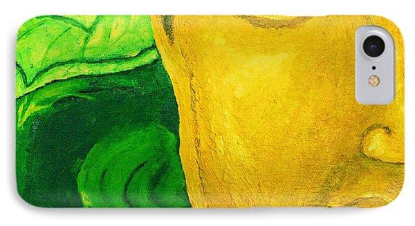 Lemon Buddha IPhone Case