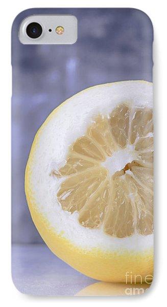 Lemon iPhone 7 Case - Lemon Half by Edward Fielding