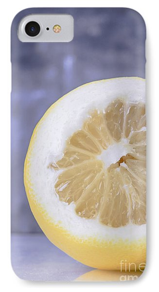 Lemon Half IPhone Case by Edward Fielding