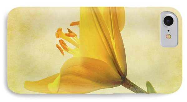 Lemon Lily IPhone Case by Roy McPeak