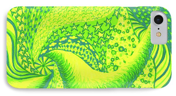IPhone Case featuring the drawing Lemon Lime by Kim Sy Ok