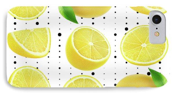 Lemon  IPhone 7 Case by Mark Ashkenazi