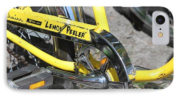 Lemon Peeler Phone Case by Lauri Novak