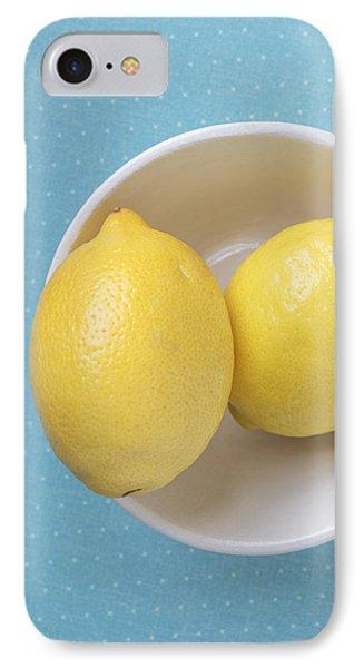 Lemon iPhone 7 Case - Lemon Pop by Edward Fielding