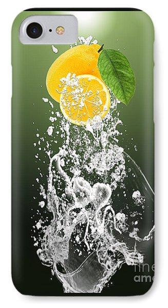 Lemon Splast IPhone Case by Marvin Blaine