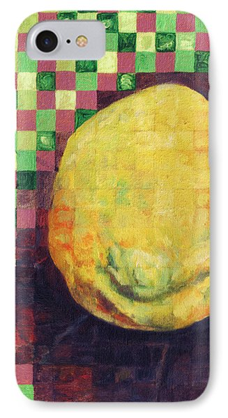 IPhone Case featuring the painting Lemon Squares by Shawna Rowe