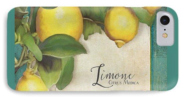 Lemon Tree - Limone Citrus Medica Phone Case by Audrey Jeanne Roberts