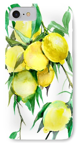 Lemon Tree IPhone Case by Suren Nersisyan