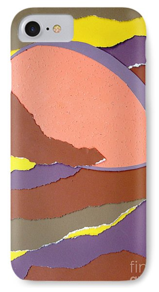 IPhone Case featuring the mixed media Lemon Twist by Vonda Lawson-Rosa