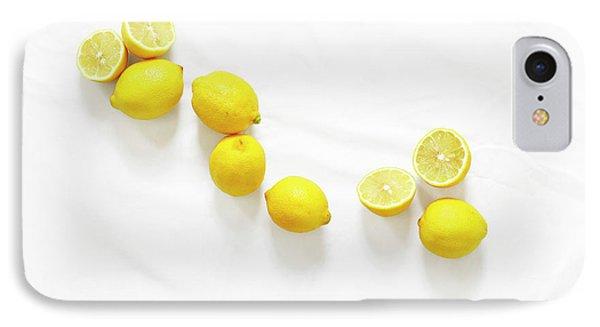 Lemons IPhone 7 Case by Lauren Mancke