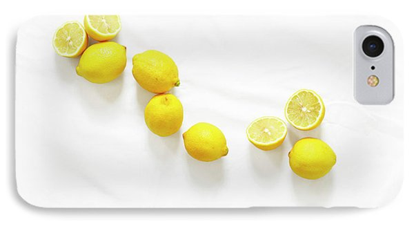 Lemons IPhone Case by Lauren Mancke
