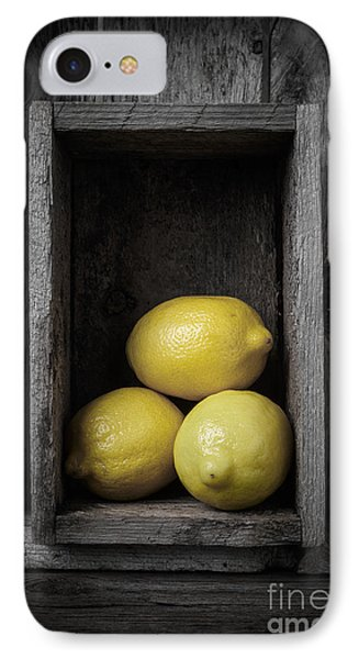 Lemon iPhone 7 Case - Lemons Still Life by Edward Fielding