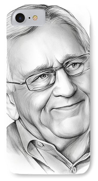 Len Cariou IPhone Case by Greg Joens