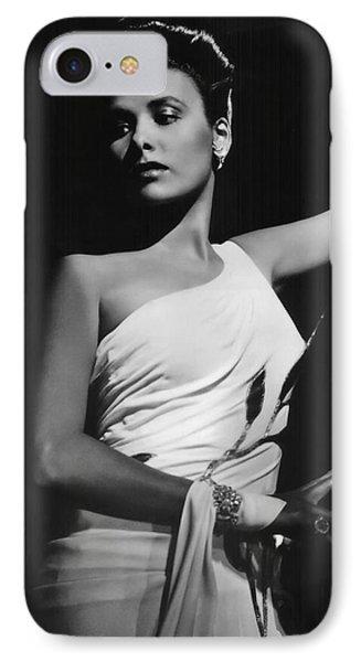 Lena Horne  Circa 1943-2015 IPhone Case by David Lee Guss
