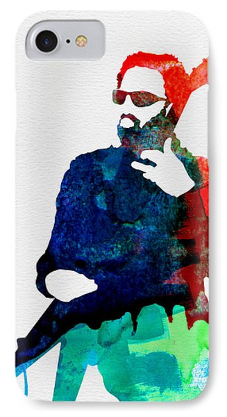 Lenny Watercolor IPhone Case by Naxart Studio