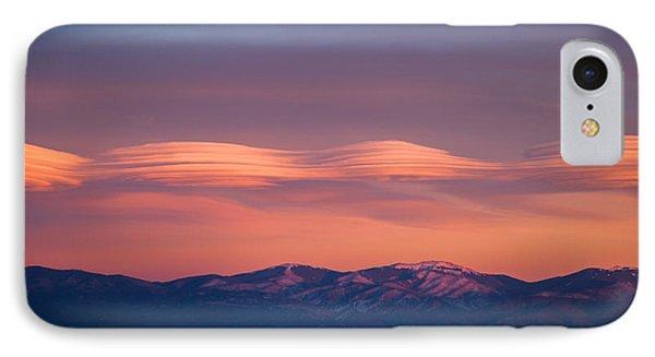 Lenticular Clouds IPhone Case by Elena E Giorgi